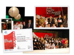 RFID SDT Wins Best Industrial Application at APICTA International 2008